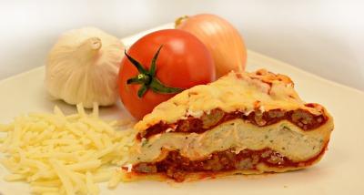 Priscilla's Home-style Meat Lasagna Pie